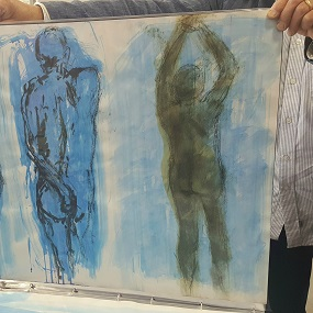 Life drawing by Terry Clarke