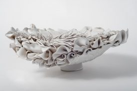 Ceramic artwork by Adele Howitt (photo by Graeme Oxby)