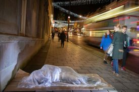 Luke Jerram - Invisible Homeless