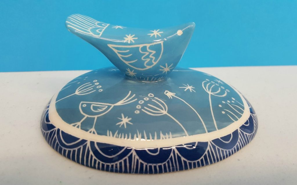 Kath Cooper Ceramics - Bird on a Hill