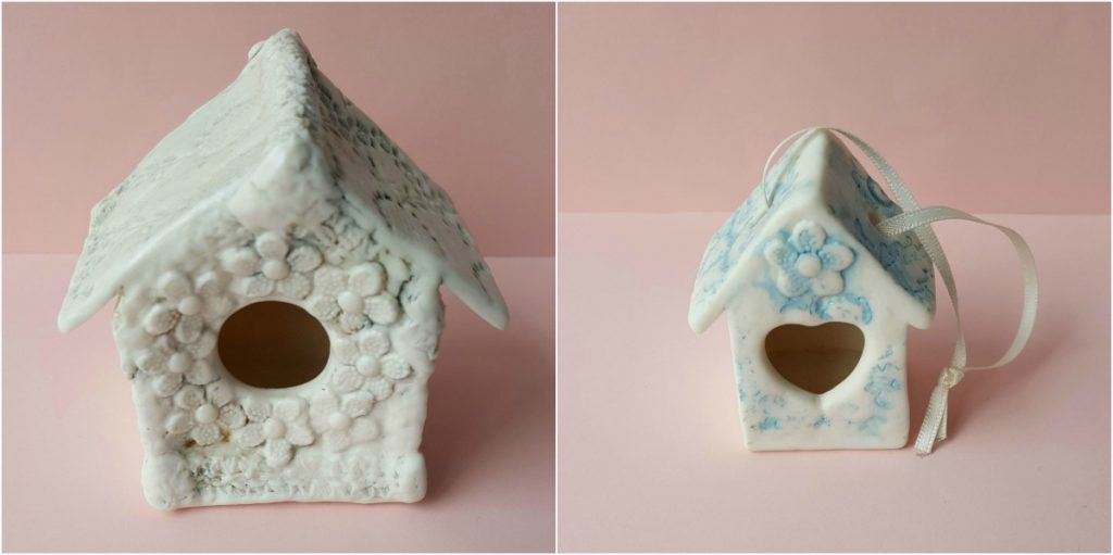 Amanda Mercer - Mini Ceramic Birdhouses