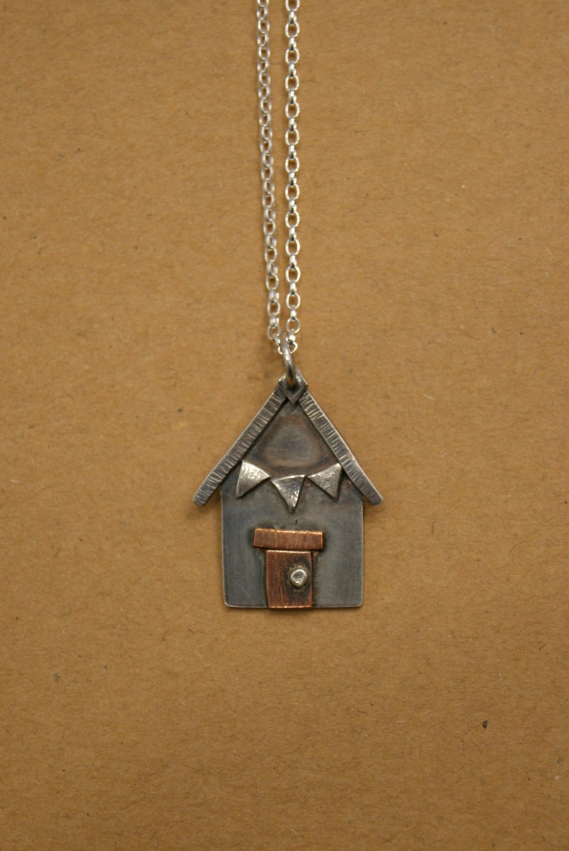 Hilary Tate Beach Hut Necklace