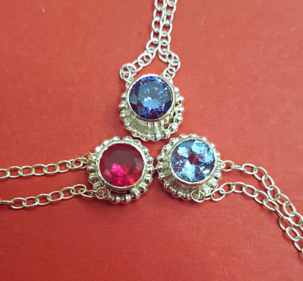 Becky Pearce Birthstone Pendants