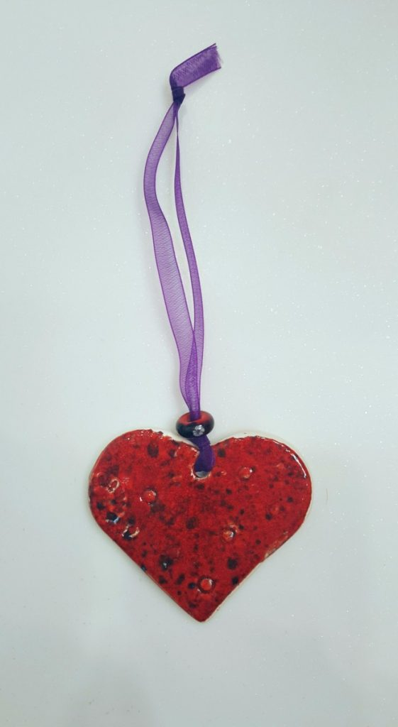 Pentangle Pottery Ceramic Heart