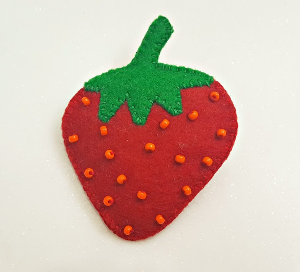 Cherry Pips, Strawberry Brooches, 20-21 Shop