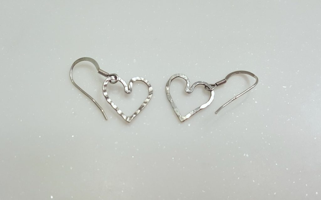 Angie Young Heart Earrings