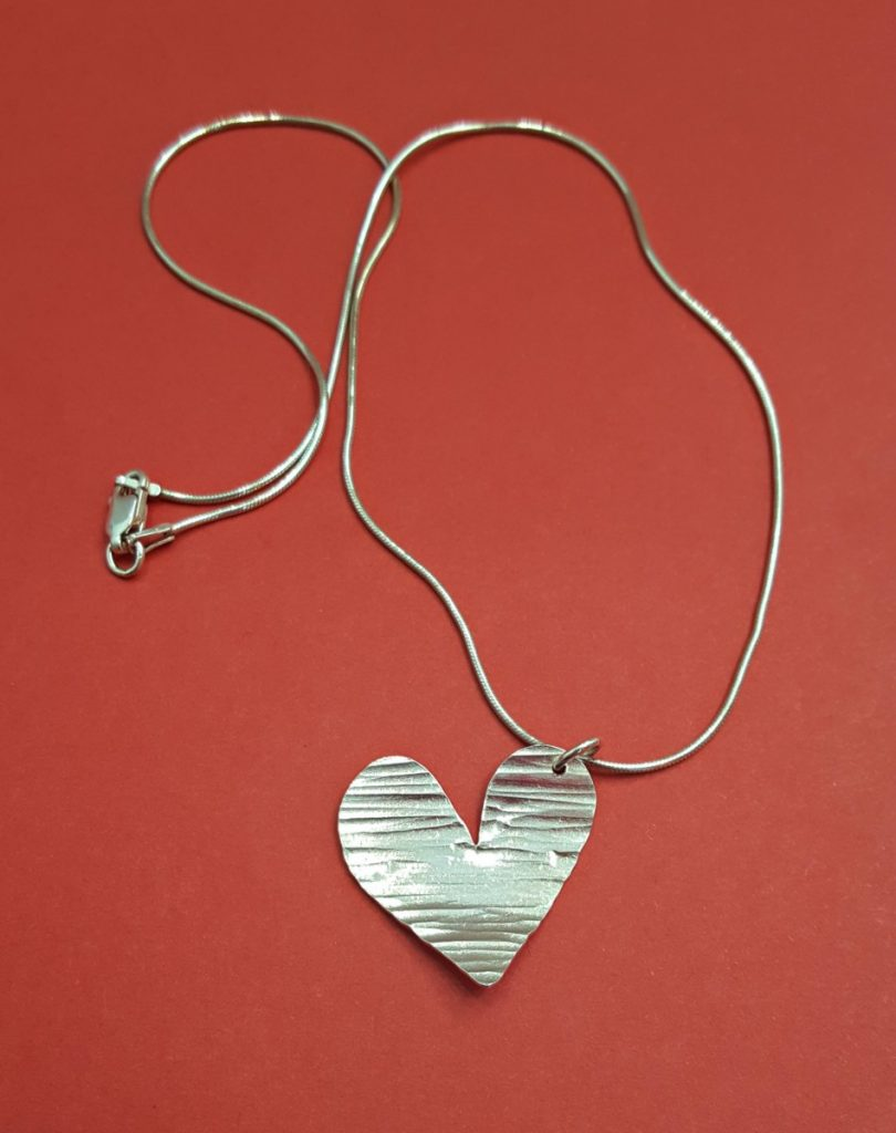 Angie Young Heart Necklace