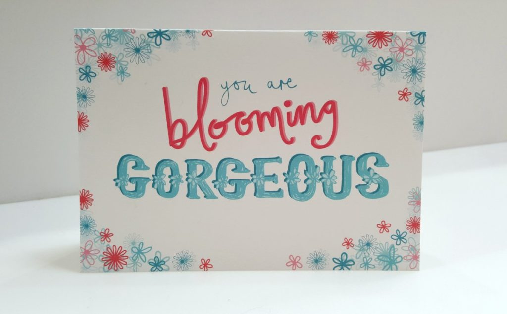 Jane Houghton - You Are Blooming Gorgeous Card