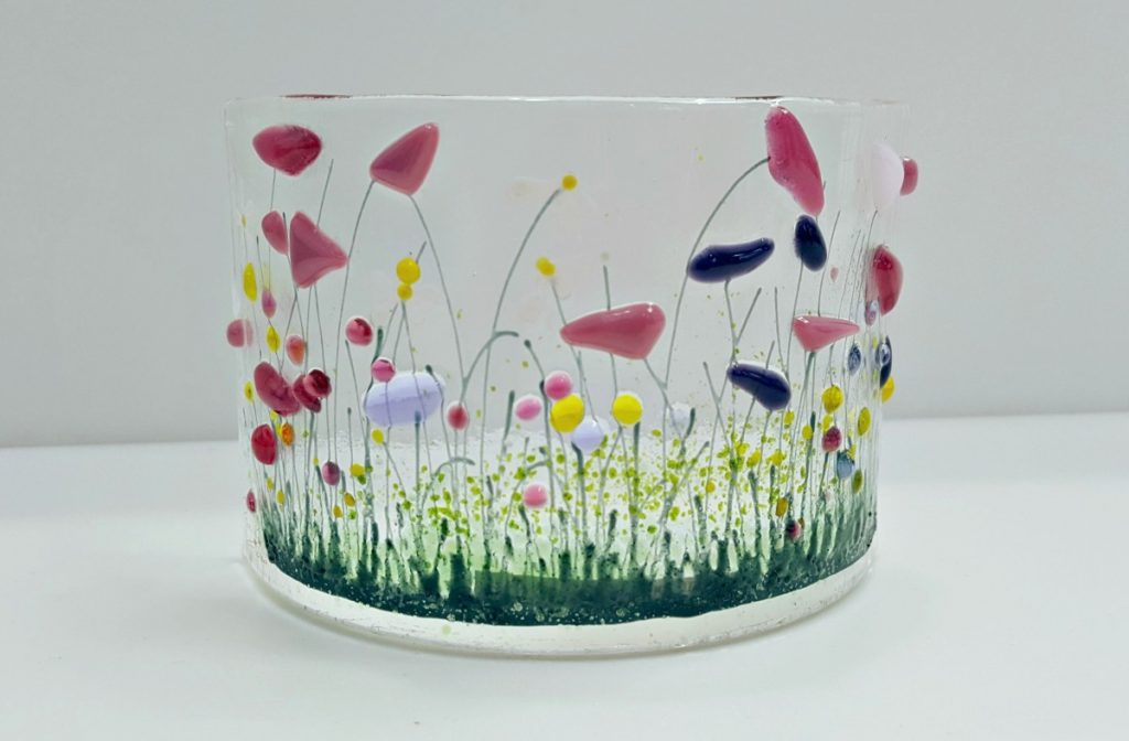 Pam Peters Designs Small Wildflowers Curve