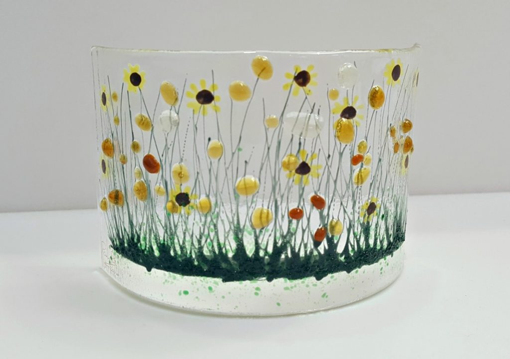 Pam Peters Designs Small Sunflowers Curve