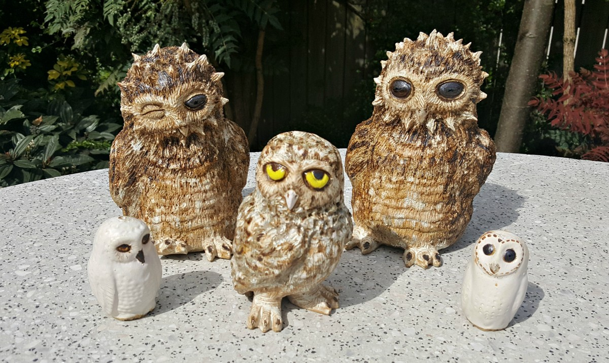 Owl Family, Zoo Ceramics, 20-21 Shop