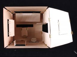 Poppy Whatmore maquette for Flatpack