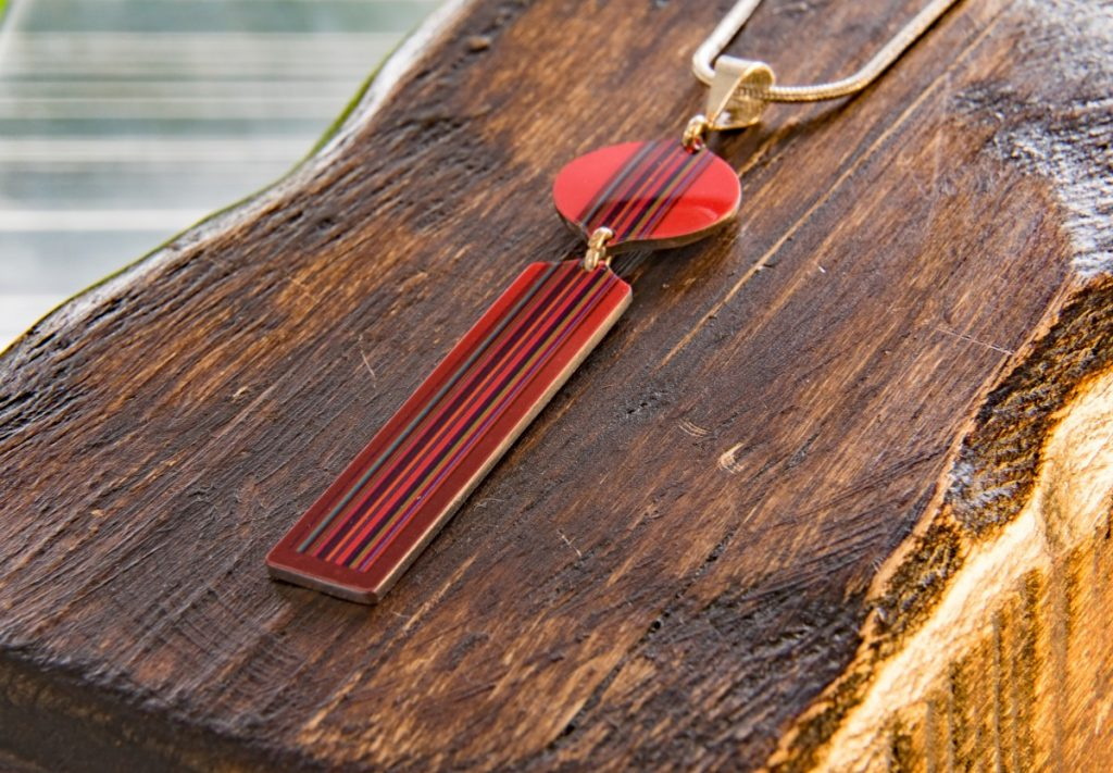 Red Pendant by Pixalum, 20-21 Shop