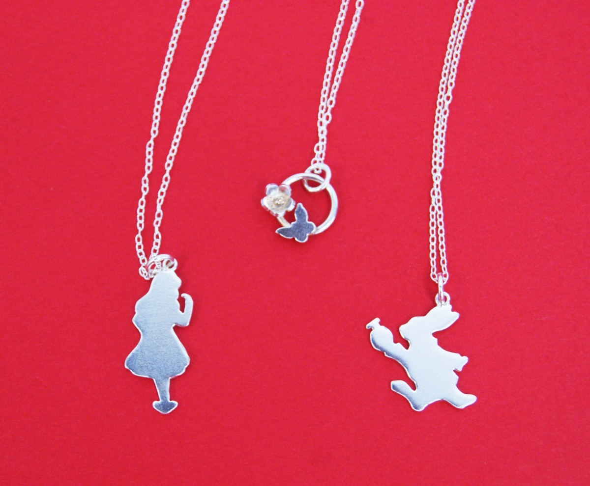 Alice in Wonderland Necklaces, Gemma Atwell