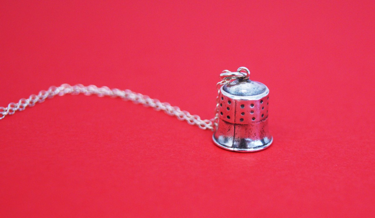 Thimble Necklace, Gemma Atwell