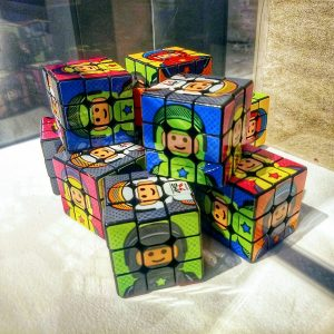pop cubes - lego themed rubiks cubes by AME72