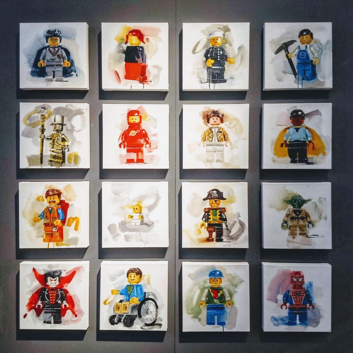 James Paterson's LEGO firsts paintings