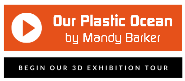 Begin our 3D exhibition tour of Our Plastic Ocean by Mandy Barker