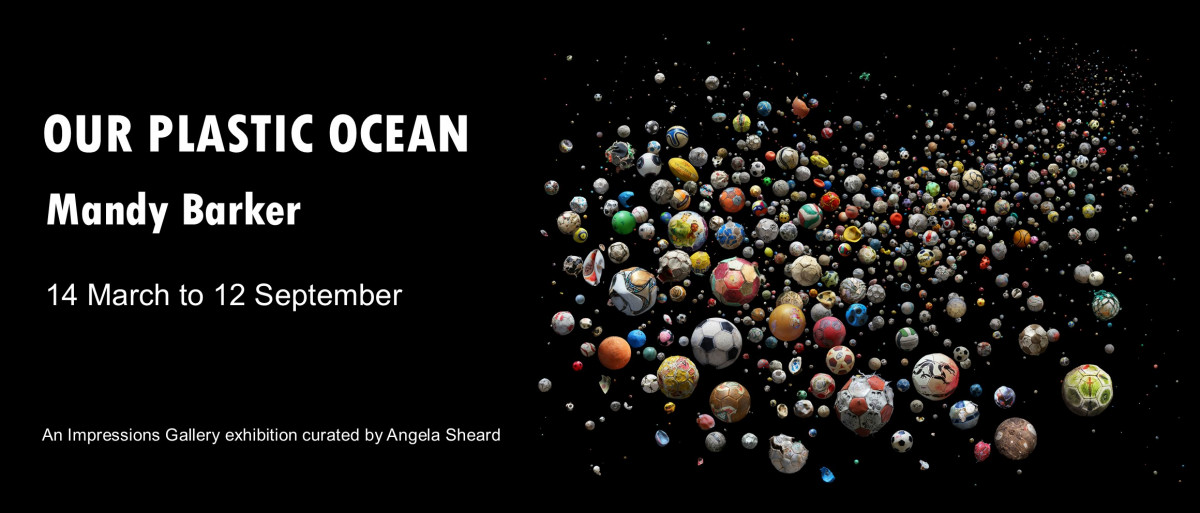 Our Plastic Ocean by photographer Mandy Barker