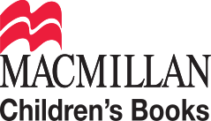 McMillan Children's Book logo, including red stylaised illustration of an open book.