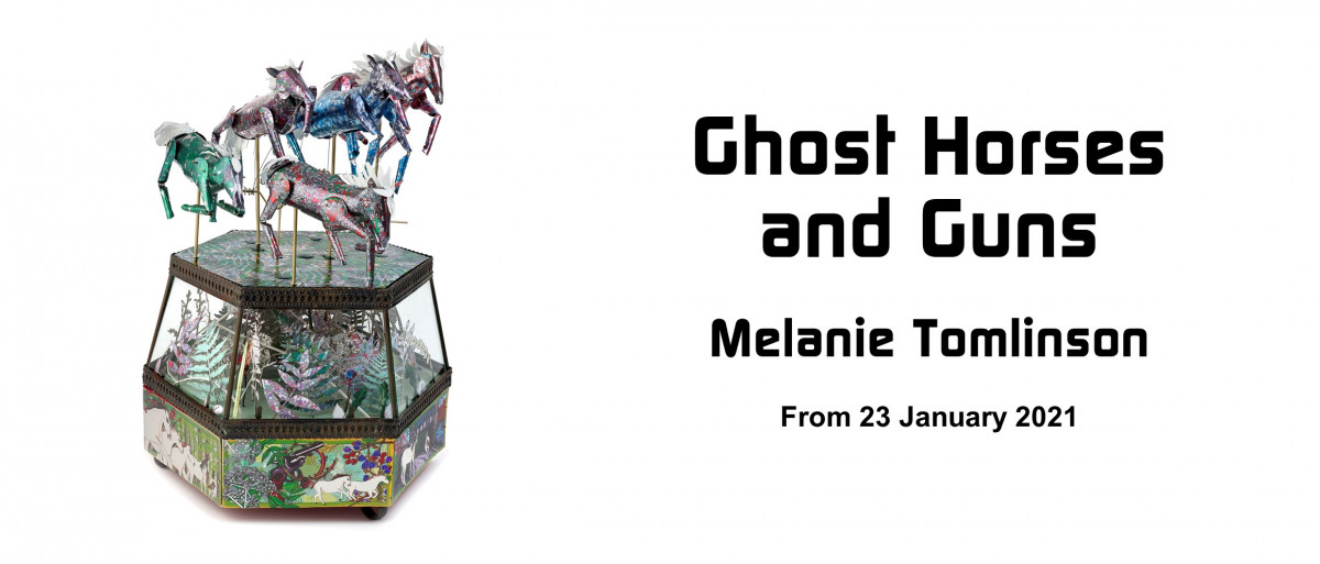 Ghost Horses and Guns by Melanie Tomlinson