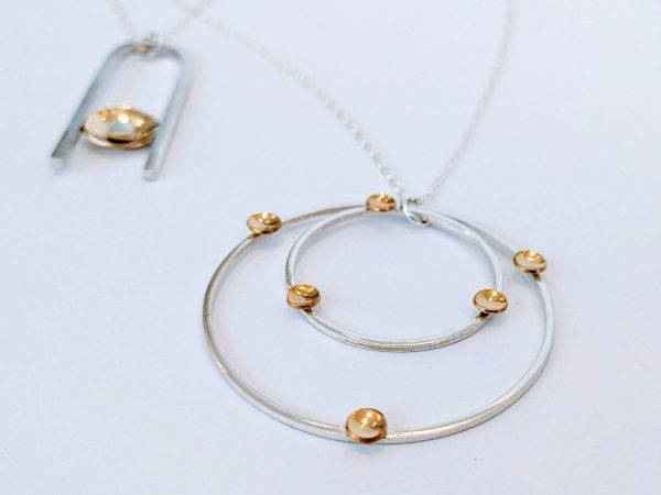 Two necklaces by Imogen George Jewellery