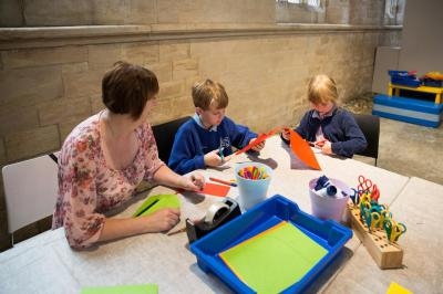 Activity table in the gallery