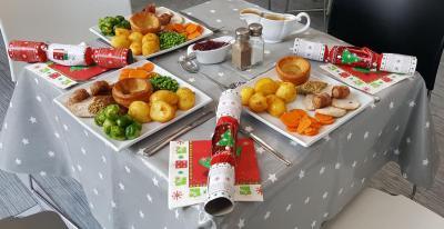 20-21 Christmas Lunch Spread